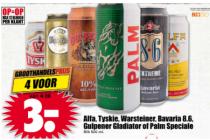 alfa tyskie warsteiner bavaria 8.6 gulpener gladiator of palm speciale