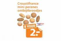 croustifrance mini perenes ontbijtbroodjes