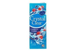 crystal clear framboos bosbes suikervrij