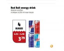red bull energy drink diverse soorten