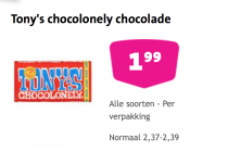 tonys chocolonely chocolade