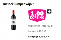 tussock jumper wijn.