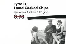 tyrrells hand cooked chips