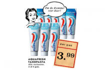 aquafresh tandpasta 3 of 5 pak
