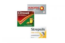 nurofen citrosan of strepsils