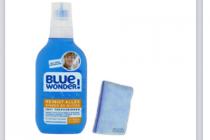 blue wonder reinigers