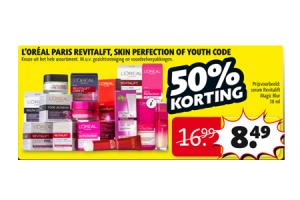 loreal paris revitalift youth code of skin perfection
