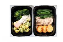 het beste van deen maaltijd zalm met broccoli of varkenshaas met aardappelen
