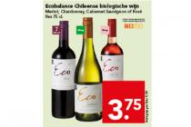 ecobalance chileense biologische wijn