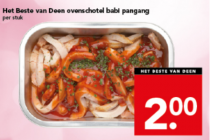 het beste van deen ovenschotel babi pangang