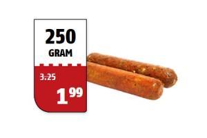 poiesz slagers grillworst