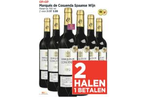 marques de coscuenda spaanse wijn