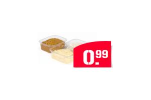 coop ambachtelijke brood   toastsalades scharrelei bacon kip sate of krab bakje 150 gram
