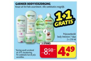 garnier bodyverzorging