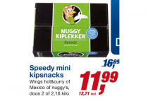speedy mini kipsnacks