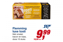 flemming luxe tosti