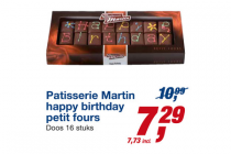 patisserie martin happy birthday petit fours