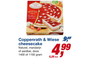 coppenrath  wiese cheesecake