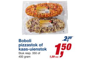 boboli pizzastok of kaas uienstok