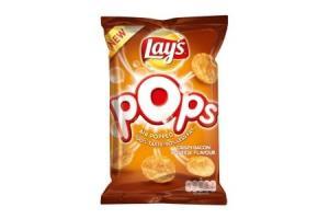 lays pops crispy bacon  cheese