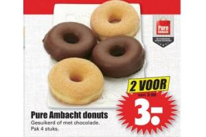 pure ambacht donuts