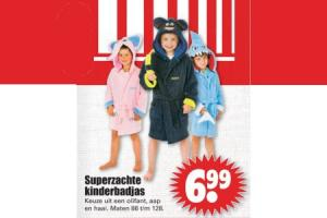 superzachte kinderbadjas