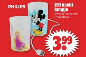 philips led nachtlampje