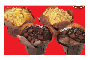 muffin double chocolat of grannys apple