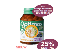 optimax multivitaminen superfruit vlierbes zwarte bes