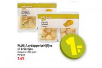 aardappelschijfjes of krieltjes