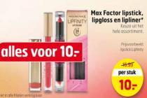 max factor lipstick lipgloss en lipliner