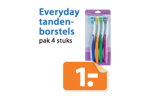 everyday tandenborstels