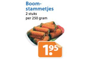 boomstammetjes