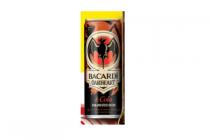 bacardi oakheart  cola tray 12 blikjes