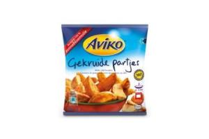 aviko aardappel specialiteiten gekruide partjes