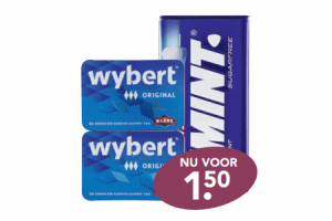 wybert 2 pak of smint xl