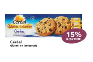 cereal gluten  en lactosevrij