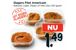 slagers filet americain