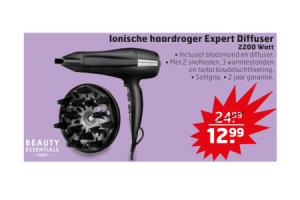 ionische haardroger expert diffuser