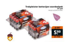 trekpleister batterijen voordeelpak