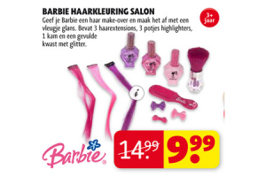 barbie haarkleuring salon