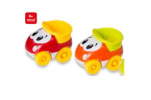vrolijk gekleurde autootjes