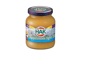 hak appelmoes light 370 ml