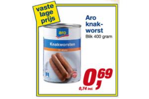 aro knakworst