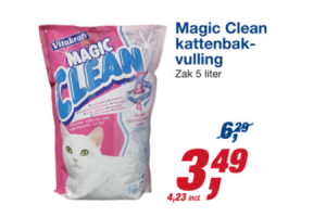 magic clean kattenbakvulling