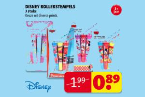 disney rollerstempels