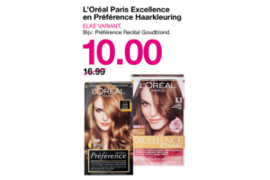 loreal paris excellence en preference haarkleuring