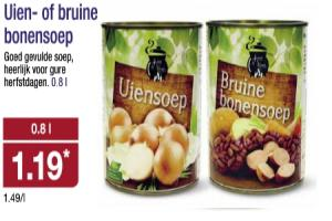 uien  of bruine bonensoep