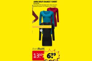 anna rolfi dames t shirt