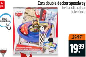 cars double decker speedway